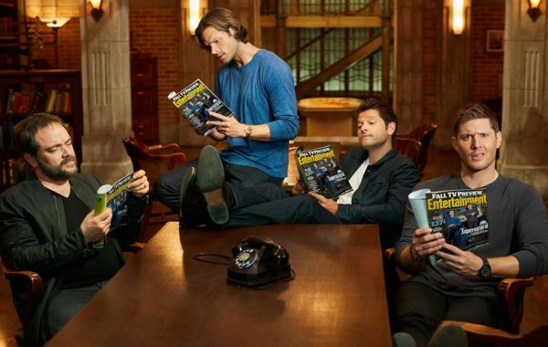 Supernatural 14 season premiere